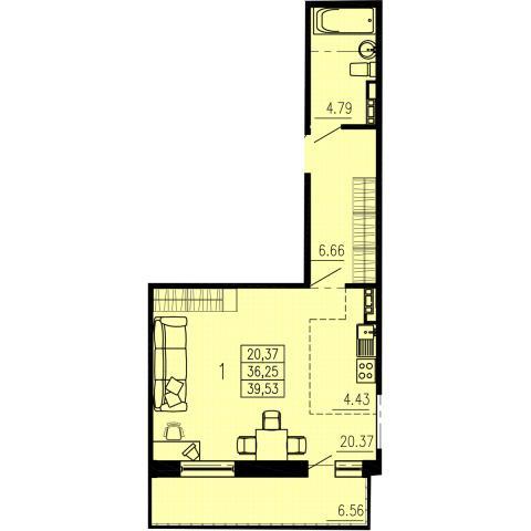 Схема квартиры